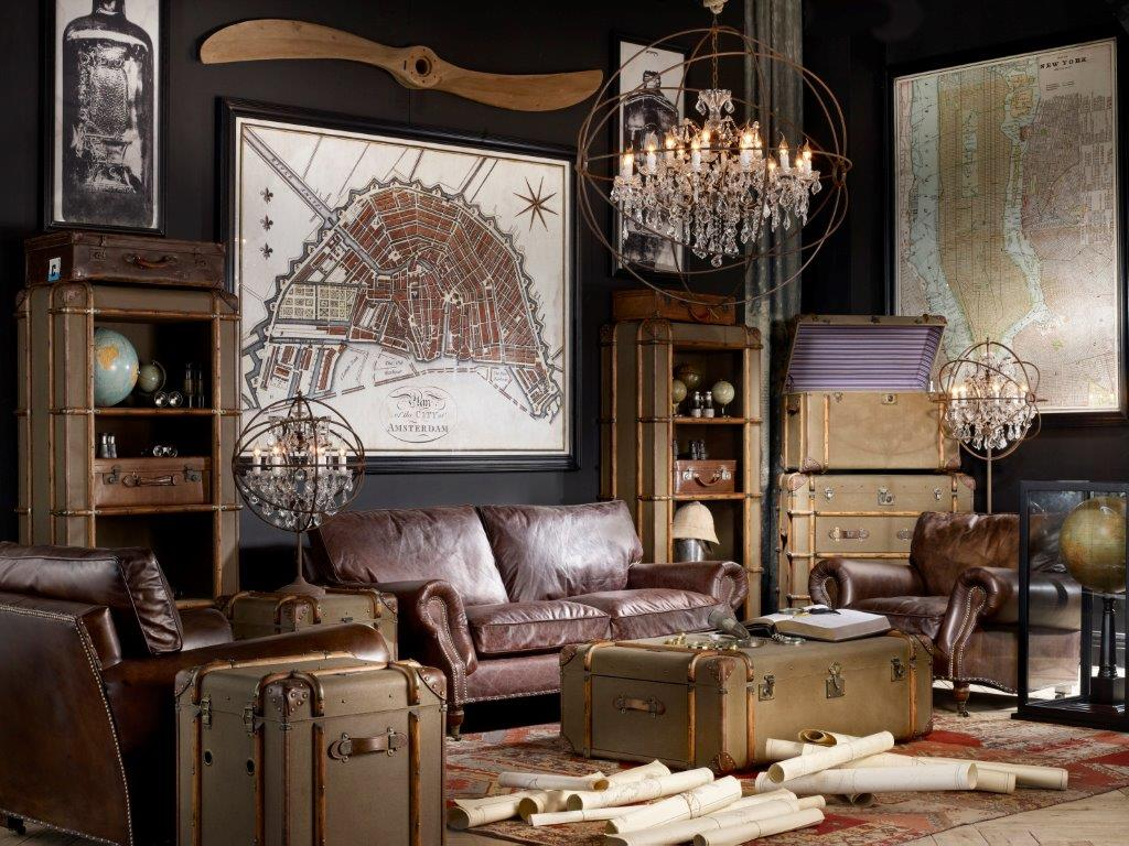 Interiér alá steampunk, zdroj: Homebydleni.cz
