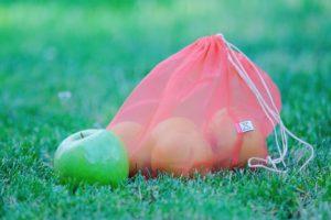 Sáček z bioplastu, zdroj: Facebook - Frusack
