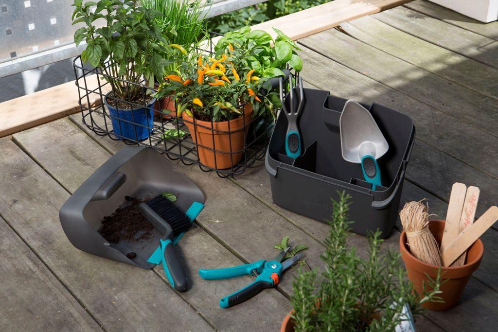 Balkonovy box, zdroj: Gardena